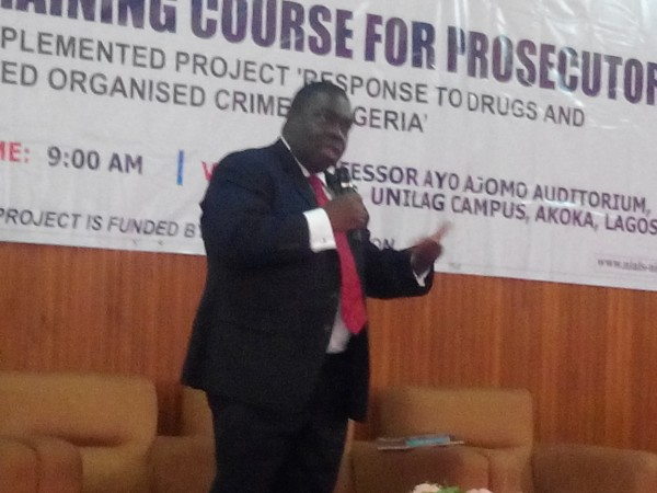The EU, UNODC and NIALS organised a prosecution course for NDLEA prosecutor in August 2015, the Managing Partner, Akinlawon&Ajomo, Mr. Ibukun Ajomo was a facilitator at the training.
